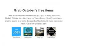 Envato Grab October's free items