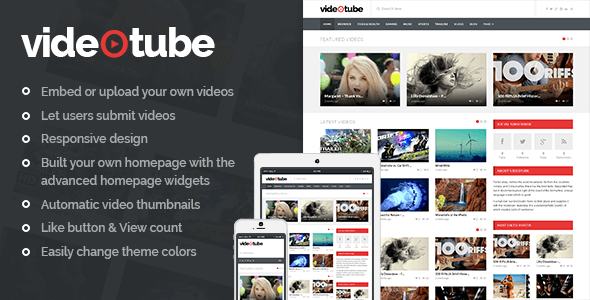 Video Tube [object object] - VideoTube - Shared Theme VideoTube – A Responsive Video WordPress Theme