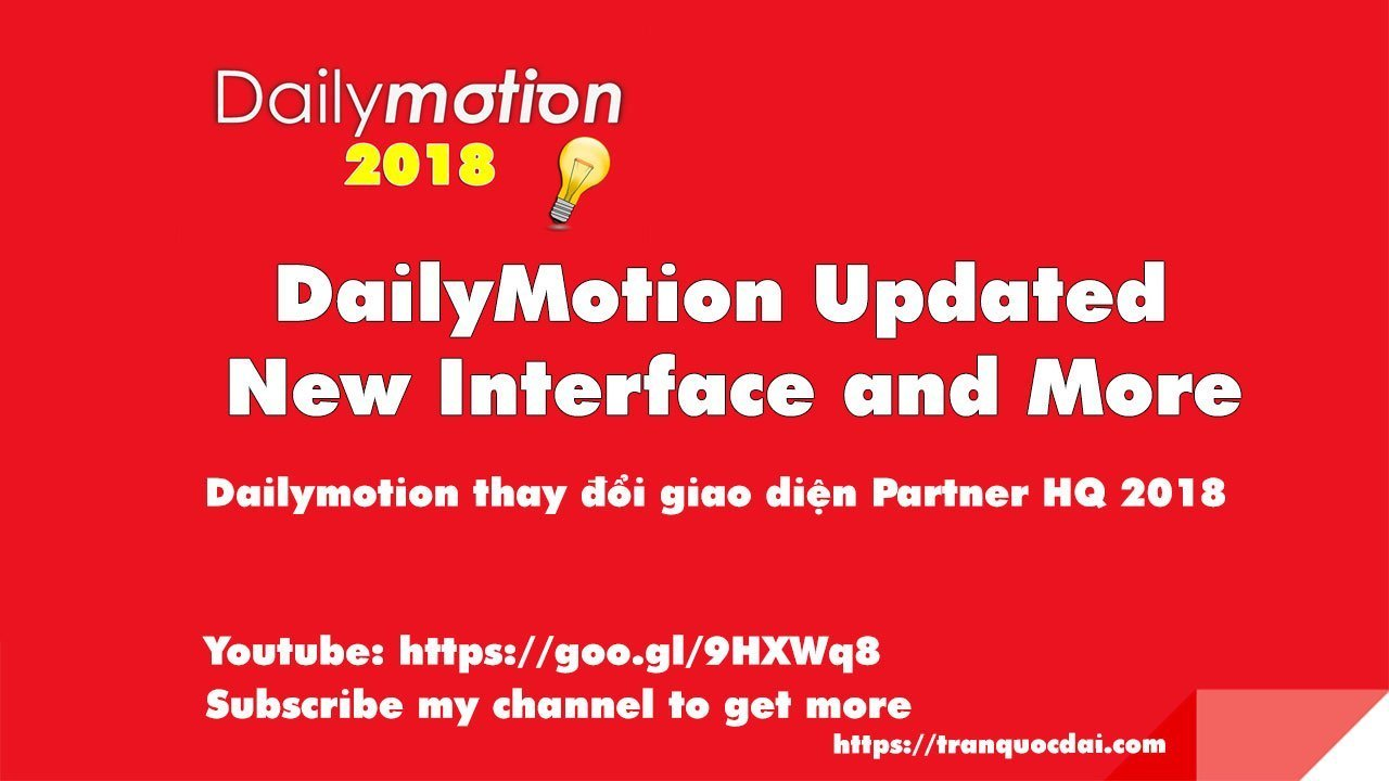 dailymotion partner hq 2018