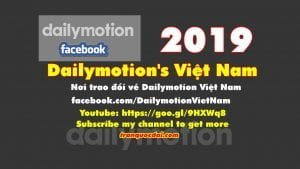 dailymotion 2019