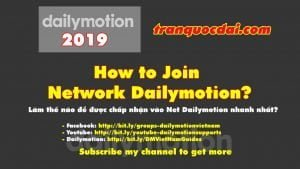 dailymotion2019 how to join netửok