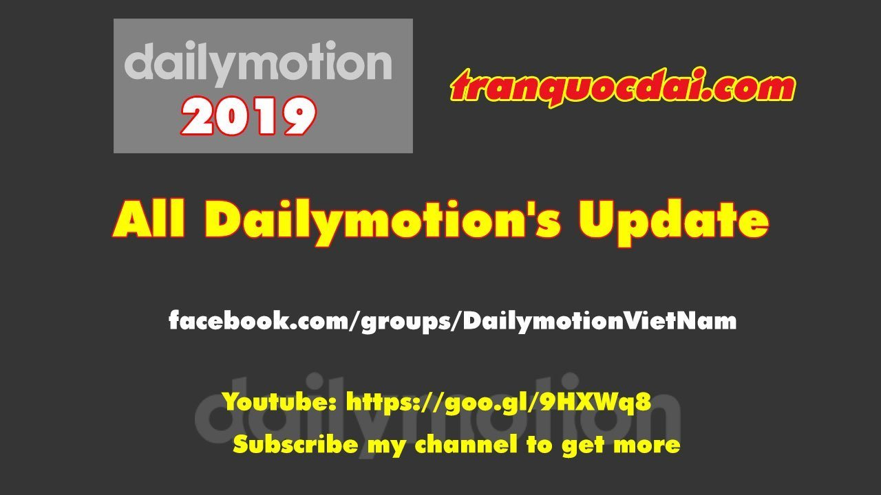 dailymotion 2019 news