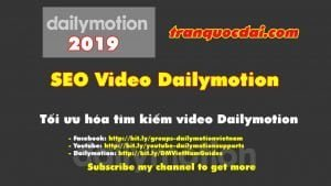 SEO video dailymotion