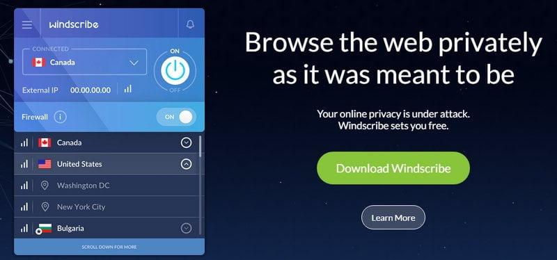 windscrible vpn