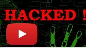youtube account hacked